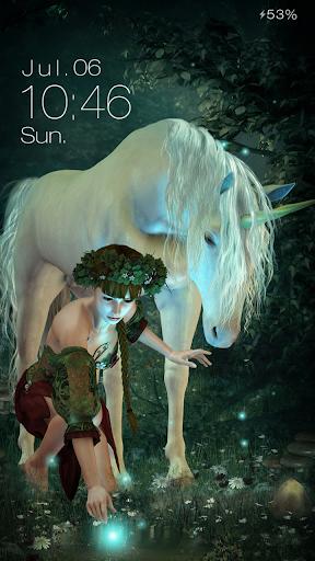 Unicorn Live Locker Theme