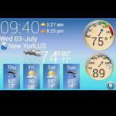 S4 Weather &Temperature Widget