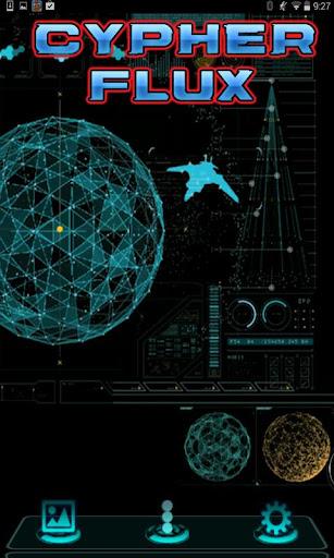 Next Launcher Theme CypherFlux
