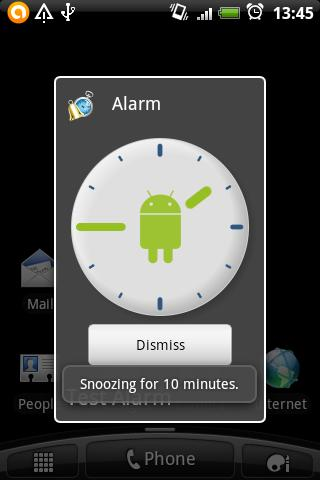 SnoozeThenStopAlarm - screenshot