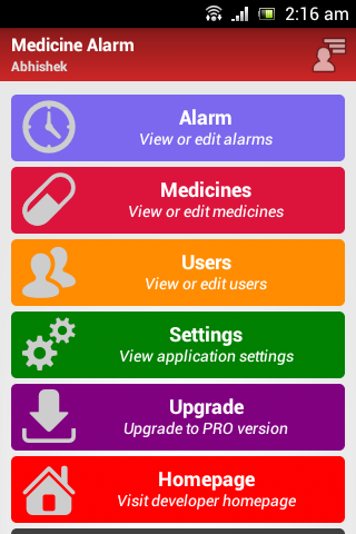 Medicine Alarm Reminder