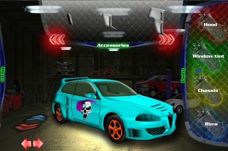 調整你的車3D