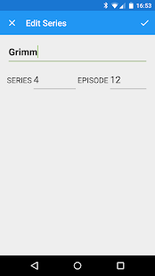 Episode Tracker - náhled