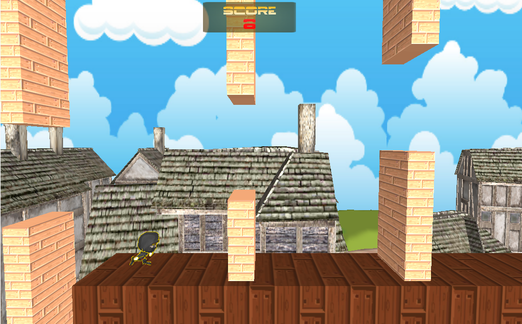 Jumpy Ninja- screenshot