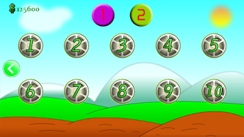 Screenshot of Keep It Safe racing game