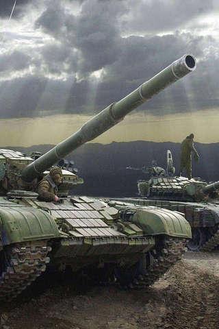 T-72主戰坦克拼圖