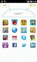 Screenshot of App Logo Quiz