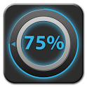 Melody battery disc widget icon