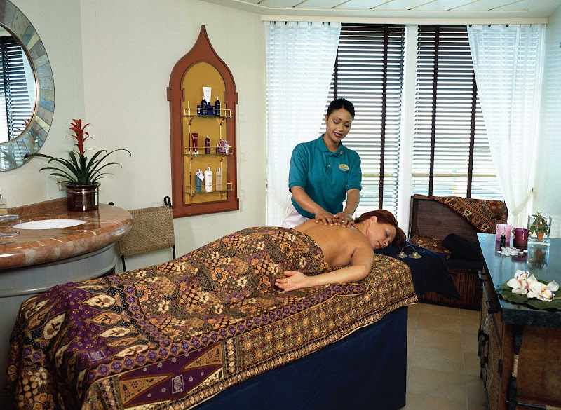 Indulge and recharge at Serenade of the Seas' Vitality Spa.