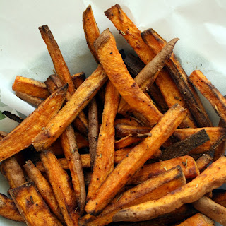 Smoky Rosemary Sweet Potato Fries