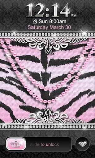 ★ Luxury Pink Tiger Locker ★