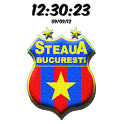 Steaua București Digital Clock icon
