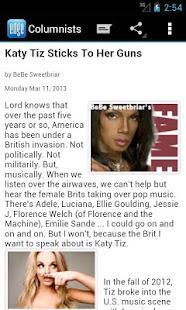 EDGE Gay/Lesbian News Reader - screenshot thumbnail