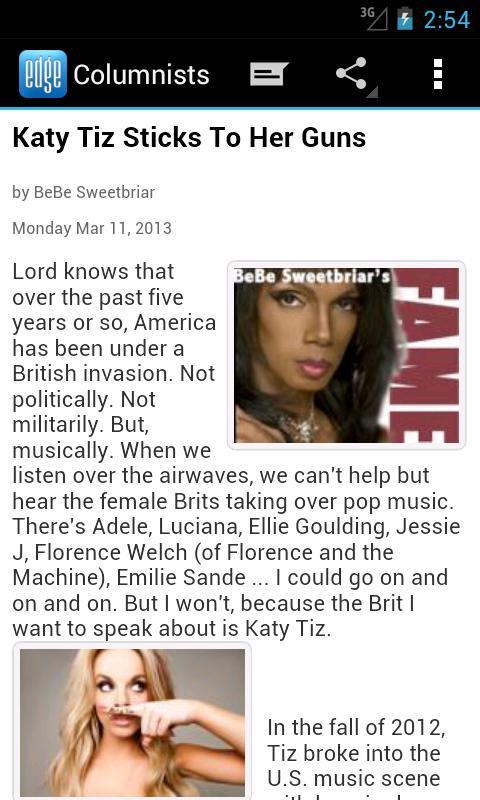 EDGE Gay/Lesbian News- screenshot