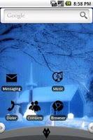 Screenshot of HD Theme: Winter morning