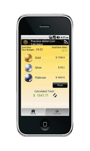 Gold Silver Coin Price App