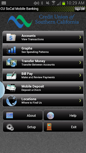 CU SoCal Mobile Banking