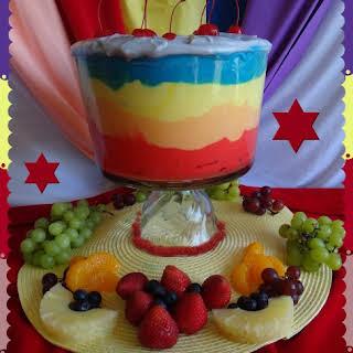 Dazzling Rainbow Fruit Salad.