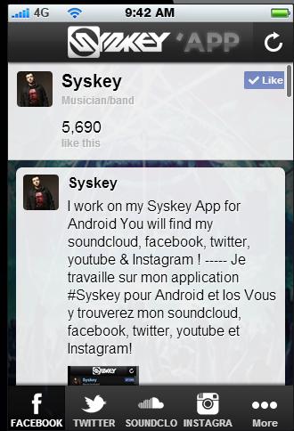Syskey 'App