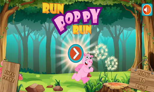 Peppie Pig Runner for kids
