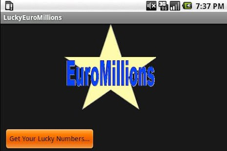 Lucky Numbers (Euro Mills) - screenshot thumbnail