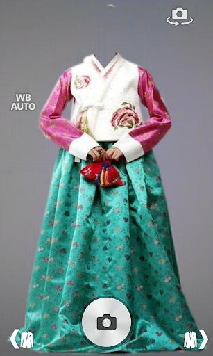 แต่งรูป ชุดฮันบก แฟชั่นเกาหลี