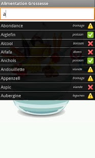 Alimentation Grossesse - screenshot thumbnail