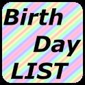 Birthday LIST icon