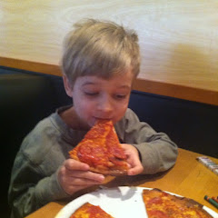 I took my 7 year old Nathaniel to CPK. The wait staff was knowledgable and very careful with his foo