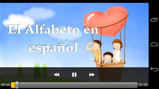 玩免費教育APP|下載ABC歌西班牙語 app不用錢|硬是要APP