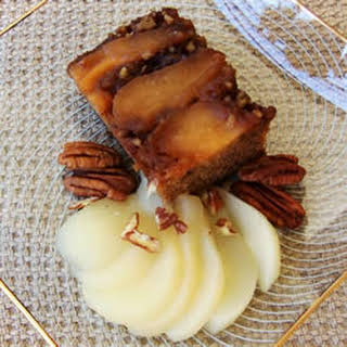 Gingerbread Pear Cake.