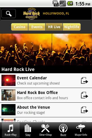 Casino hard hollywood in rock casino ticket