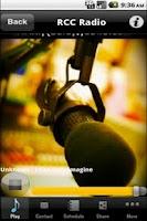 Screenshot of iRadioMobile