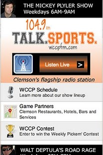 WCCP 104.9 Radio - screenshot thumbnail