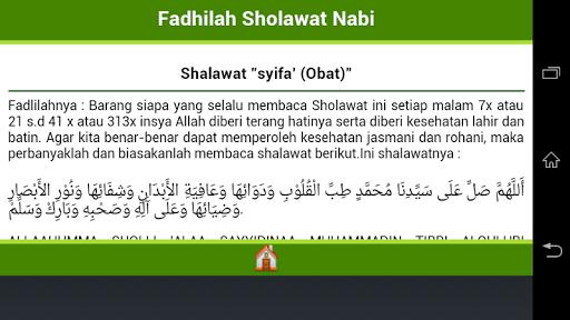 Fadhilah Shalawat Nabi