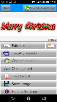 TextArt ★ Cool Text creator APK screenshot thumbnail 1