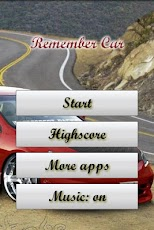 Remember Game: Cars Icons Android Casual