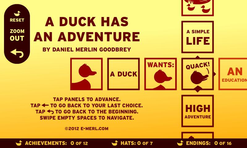 A Duck Has An Adventure - screenshot