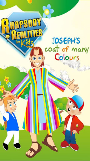 Josephs coat of many Colours