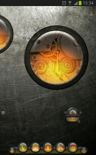 TSF Shell Theme EventGlassO HD