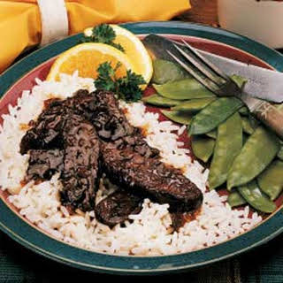 Sweet-and-Sour Elk.