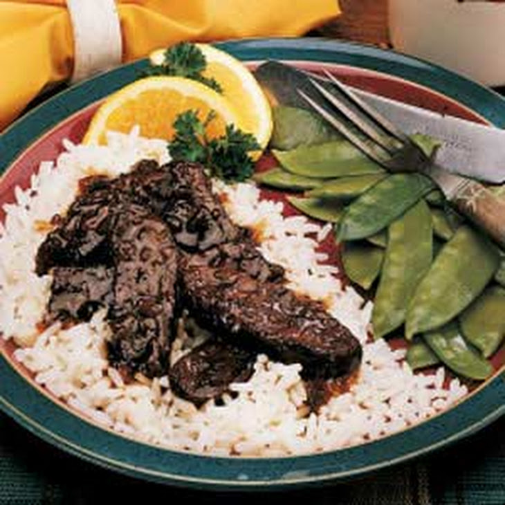 Sweet-and-Sour Elk Recipe
