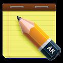 AK Notepad logo
