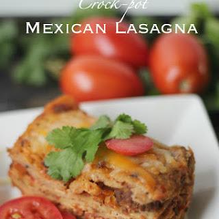 Crock-Pot or Not Mexican Lasagna Recipe