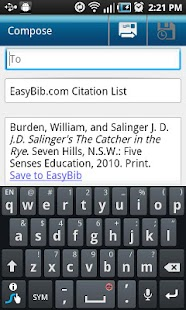 EasyBib - screenshot thumbnail
