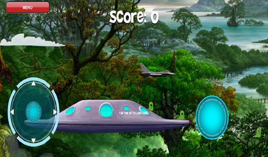 Fighter Jet vs Alien Invasion