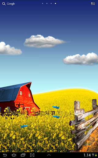 Countryside android live wallpaper