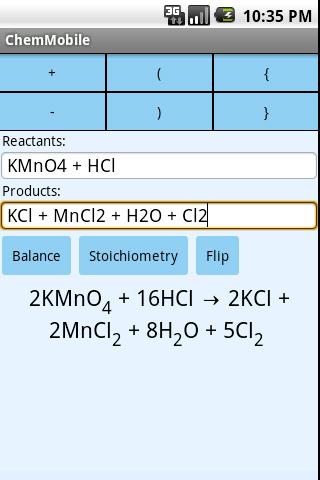 Chemistry Mobile v3.6