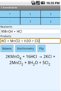 Chemistry Mobile Free - screenshot thumbnail