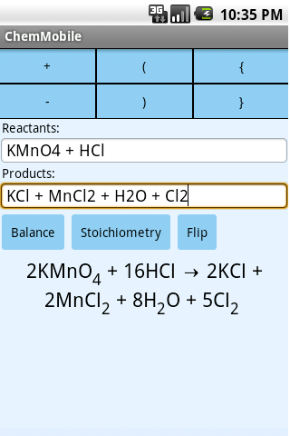 Chemistry Mobile Free - screenshot